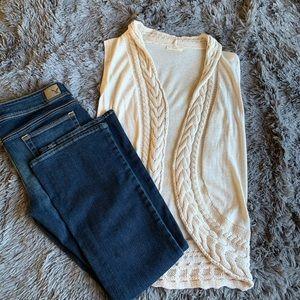 Honeylee knit vest
